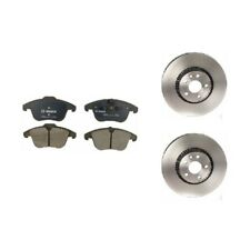 Land Rover LR2 Front Brake Rotors And Front Brake Pads Kit New Brembo / Bosch