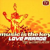 Love Parade-Music is the Key (1999) Dr. Motte/Westbam, Piet Blank/Jaspa.. [2 CD]