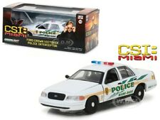 FORD CROWN VICTORIA CSI MIAMI DADE POLICE CAR 1/43 DIECAST BY GREENLIGHT 86508