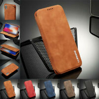 Flip Magnetic Leather Case Wallet Stand Cover For iPhone 11 XS Max 6s 7 8 Plus