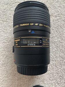 Tamron SP 90mm f2.8 AF Di 1:1 Macro Canon EF Fit Lens (Model: 272E)