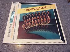 """Revivaltime"" MUSIC OF THE PENTECOSTAL CHURCHES WORD LP WST-8024 CYRIL MCLELLAN"