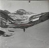 Montagne Pyrenees Francia Spagna Foto Stereo PL59L5n7 Placca Lente