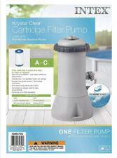Intex Krystal Clear Cartridge Filter Pump for Above Ground Pools 1000 Gph