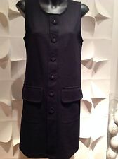 Witchery Black Jersey Casual Sleevless Dress Size S