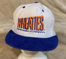 VTG Dale Earnhardt Wheaties Adult OSFA Snapback Hat Cap NASCAR Goodwrench RCR