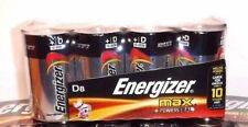 NEW SEALED Energizer Max Premium Alkaline Batteries D Cell 8 pack EXP 12/2026