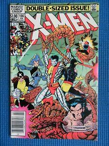 UNCANNY X-MEN # 166 - (VF) -1ST LOCKHEED,WOLVERINE,CYCLOPS,STORM,ANGEL,COLOSSUS