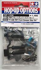 Tamiya 54556 TT-02B FRP Front Damper Stay Set (TT02B) NIP