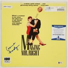 GLENNE HEADLY Signed Making Mr. Right Laser Disc Cover Auto ~ Beckett BAS COA