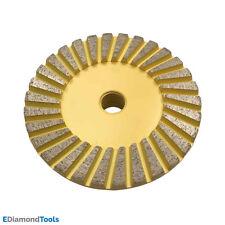 "4"" Diamond Surface Grinding Wheels for Stone Granite Concrete #60/80 Medium Grit"