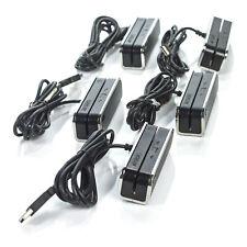 Lot 5x Id Tech Secured Enhanced Magnetic Black Stripe Card Reader Idsr-334133Teb