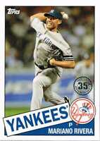 MARIANO RIVERA 2020 Topps Series 1 1985 35th Anniversary Card 85-72 YANKEES