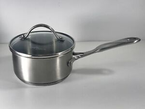 Simply Calphalon 1 Quart Saucepan Stainless Steel 8701 With Lid