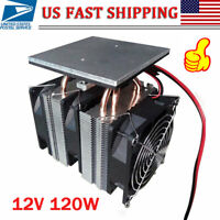 12V 120W Electronic Semiconductor Refrigerator Cooler Cooling System US
