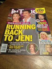 IN TOUCH Magazine OCT 16 2017 RUNNING BACK TO JEN ! ( B-D-B-2-)