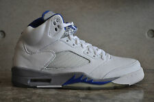 Nike air jordan 5 retro 2006-blanc / sport royal / STEALTH 7 uk