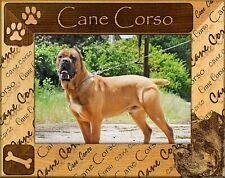 Cane Corso Laser Engraved Wood Picture Frame (5 x 7)