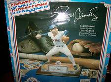ROGER CLEMENS HAND-SIGNED LIMITED EDITION PORCELEIN FIGURINE #745 OF 975