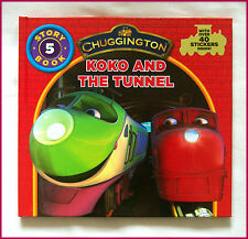 CHUGGINGTON BOOK - KOKO & THE TUNNEL Story 5 - HARDCOVER over 40 Stickers - NEW