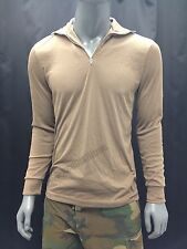 MILITARY LIGHTWEIGHT COLD WEATHER UNDERSHIRT LWCWUS SHIRT LONG UNDERWEAR SMALL
