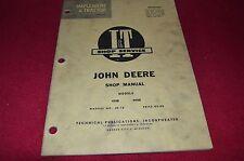 John Deere 435D 440ID Tractor I&T Shop Manual SKCA