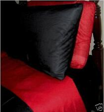SUPER SINGLE   WATERBED SHEET  SPECIAL SET RED & BLACK