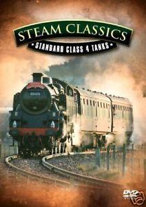 STEAM CLASSICS - STANDARD CLASS 4 TANKS  DVD - FREE POST IN UK