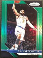 Tim Hardaway Jr. 2018-19 Prizm Green Holo #237 New York Knicks Panini Parallel