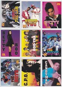 1991 Premier Cards The Rap Pack Rap Artists Base Card You Pick Finish Your Set