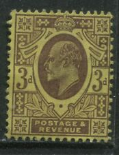 1906 KEVII 3d DLR printing on chalky paper unused no gum