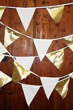 Fabric Anniversary Party Banners, Buntings & Garlands