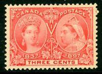 Canada 1897 Jubilee 3¢ Scott # 53 Mint W693