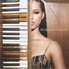 FREE US SHIP. on ANY 3+ CDs! ~Used,Good CD Alicia Keys: The Diary of Alicia Keys