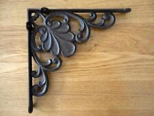 Elegant Euro Style Cast Iron Shelf / Corner / Wall Bracket Rustic B