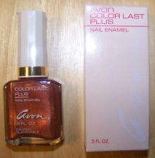 Avon Color Last Plus Nail Frosted Enamel .5 fl. oz.,  Enduring Sable