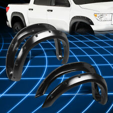 "2"" Textured Thermo ABS Wheel Fender Flares Protector Cover for 2007-2013 Tundra"