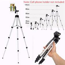 Portable Camera Tripod Stander Bracket Stand Holder Phone DSLR Camcorder Silver