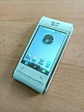 LG Optimus GT540 - White (Unlocked) Retro Smartphone - Good Condition