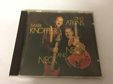 MARK KNOPFLER AND CHET ATKINS - NECK AND NECK - CD 1990