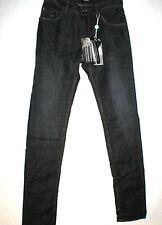 New Mens Designer CNC Costume National Slim Jeans Dark 29 X 33 NWT Raw