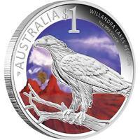 2013 World Heritage Sites, Willandra Lakes Region $1 1oz Silver Proof Coin ANDA