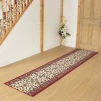 Persian Cream - Hallway Carpet Runner Rug Traditional Hall Extra Long Cheap New