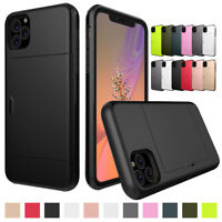 For Apple iPhone 11 Pro Max Case Heavy Duty Protective Wallet Card Holder Cover