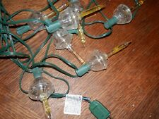 Holiday Lights Christmas Bubble Light Set Clear Bubble Light 7 Light Strand