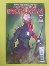 Invincible Iron Man (v3) #3- 1st Riri Williams in Ironheart Armor - NM- - Marvel