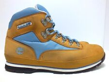 Timberland Euro Hiker Men's Ankle Hiking Boots Wheat/Baby Blue Size 12 M