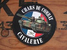 SNAKE PATCH PVC - CHARS DE COMBAT cavalerie - RCC Leclerc TANK cuirassier AMX