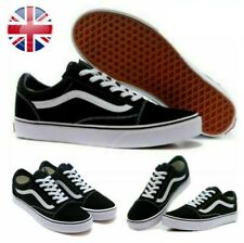 New listing Mens Womens Old Skool VANS Skate Canvas Shoes Fashion Shoes Classic Trainers