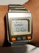 Vintage Seiko UC-2000 Computer Watch. New Battery. Works. Fast SHIPPING!!